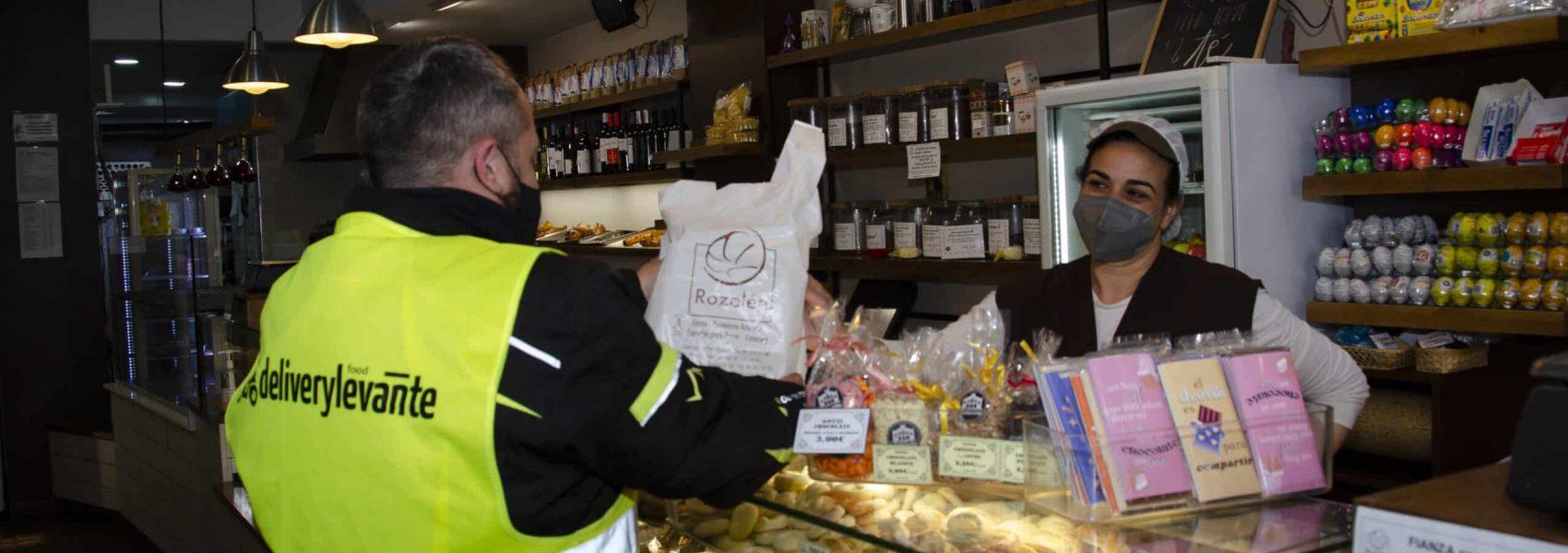 Servicio reparto comida preparada Valencia