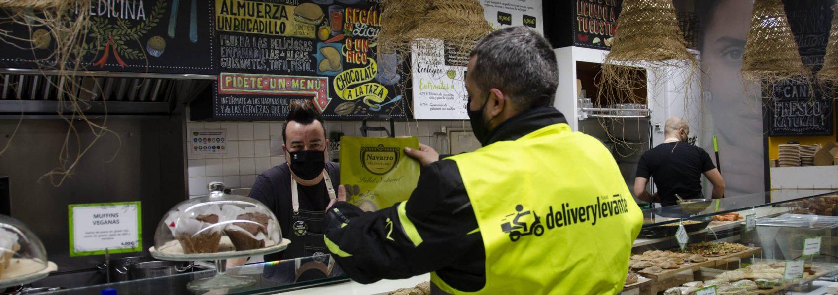 Envio a domicilio para comercios locales Valencia